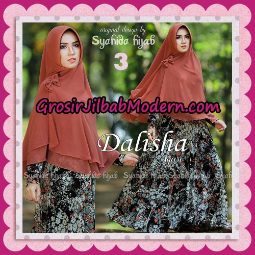 Setelan Busana Muslim Modis Dan Syar'i Gamis Dalisha Original By Syahida Hijab Brand No 3
