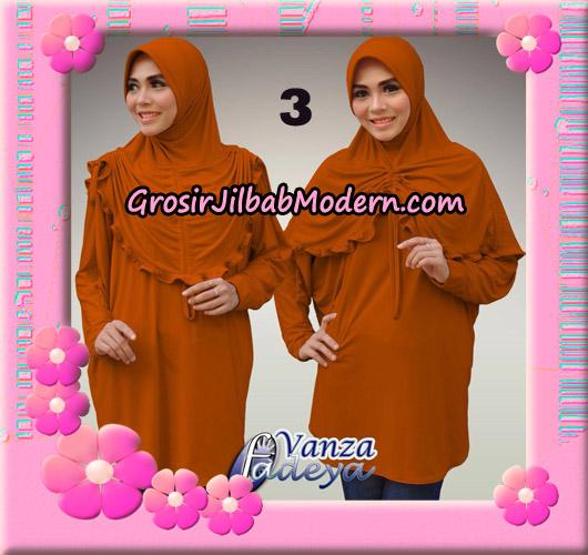 Jilbab Bergo Lengan Vanza Original By Fadeya Brand No 3