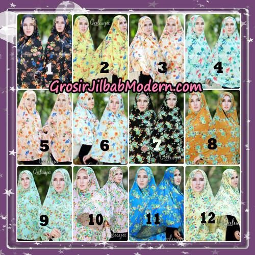 Jilbab Cantik Basic Khimar Motif Original by Qalisya Brand