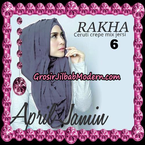 Jilbab Hoodie Instant Cantik Ala April Jasmine Original By Rakha Hijab Brand No 6