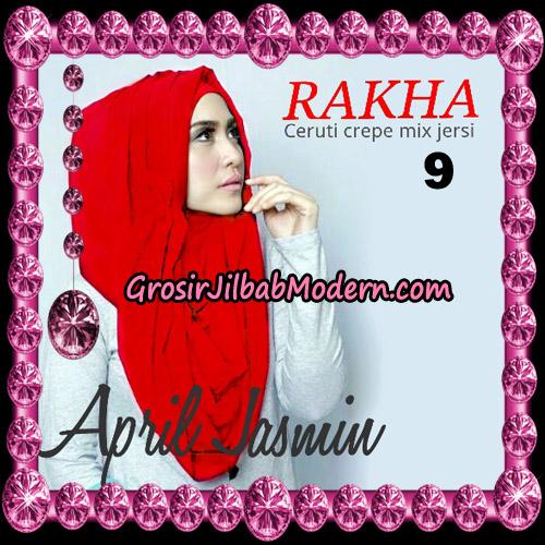 Jilbab Hoodie Instant Cantik Ala April Jasmine Original By Rakha Hijab Brand No 9