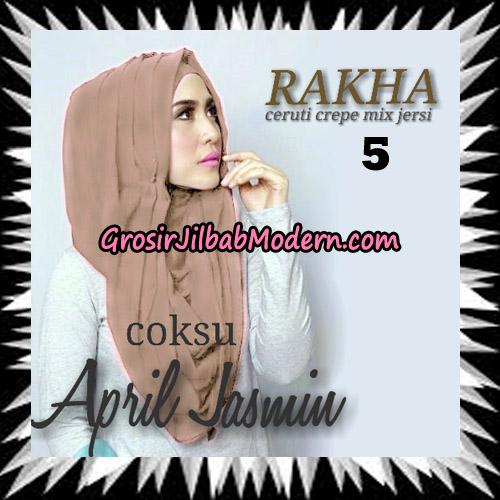 Jilbab Hoodie Instant Cantik Ala April Jasmine Seri 2 Original By Rakha Brand No 5 Coksu