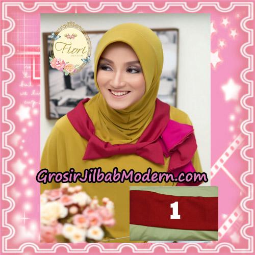 Jilbab Instant Modis Daily Pepita Original by Fiori Design No 1 Hijau Daun Pisang Muda