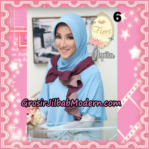 Jilbab Instant Modis Daily Pepita Original by Fiori Design No 6