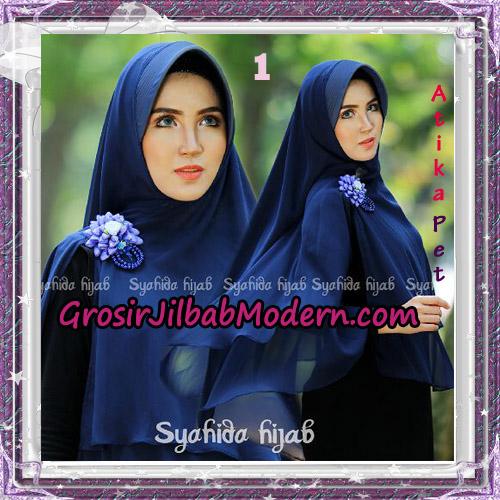 Jilbab Khimar Cerutti Syar'i Atika Pet Original By Syahida Hijab Brand No 1