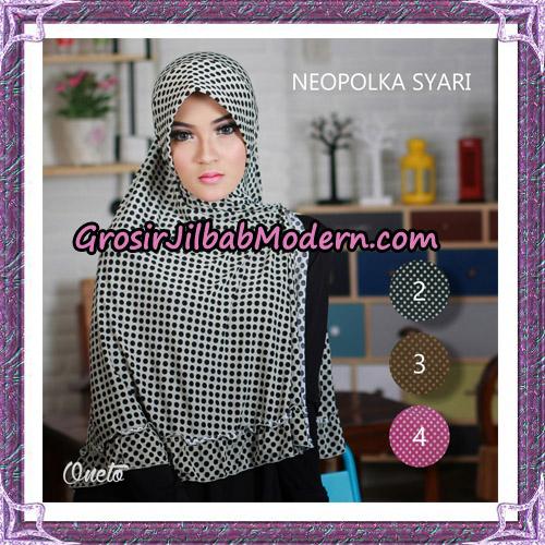 Jilbab Khimar Neo Polka Support By Oneto Hijab