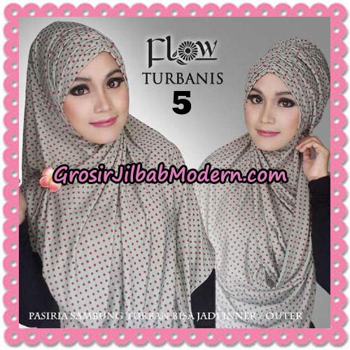 Jilbab Pasiria Turbanis Cantik Original by Flow Idea No 5