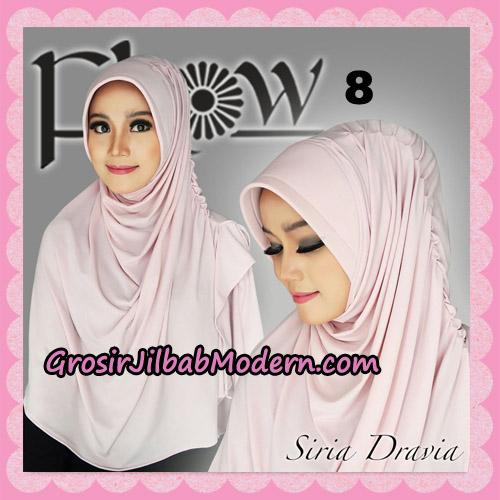Jilbab Syria Pet Instant Dravia Original By Flow Idea No 8