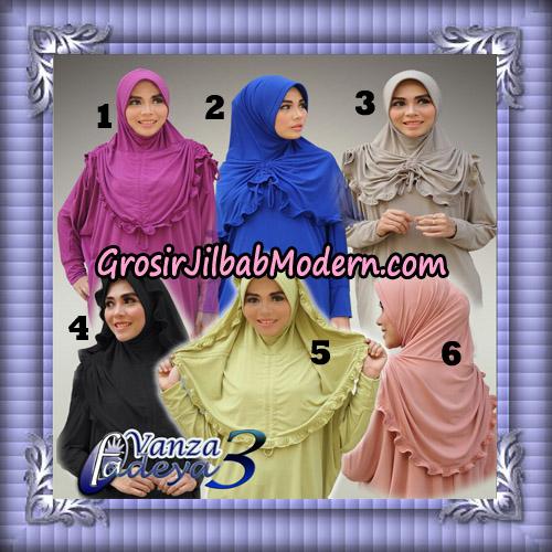 Jilbab Bergo Lengan Cantik Tunik Vanza Seri 3 Original By Fadeya Brand