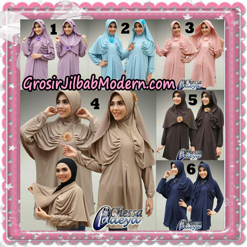 Jilbab Bergo Lengan Modern Tunik Chessa Original By Fadeya Brand