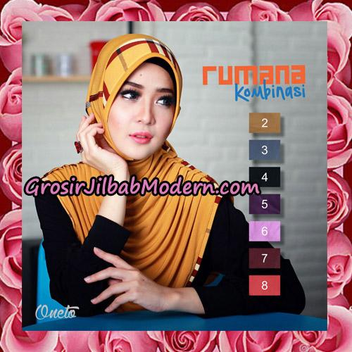 Jilbab Harian Rumana Kombinasi Support By Oneto Hijab