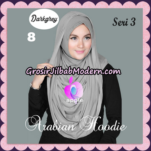 Jilbab Instant Arabian Hoodie Seri 3 Original By Apple Hijab Brand NO 8