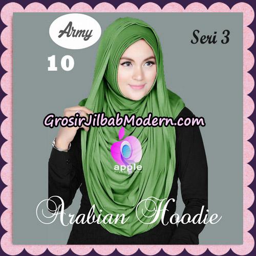 Jilbab Instant Arabian Hoodie Seri 3 Original By Apple Hijab Brand No 10