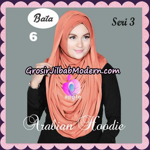 Jilbab Instant Arabian Hoodie Seri 3 Original By Apple Hijab Brand No 6