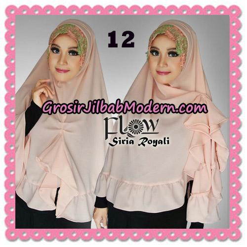 Jilbab Instant Modern Syria Royali Original By Flow Idea No 12