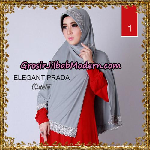 Jilbab Jumbo Elegant Prada Syar'i Support By Oneto Hijab No 1.
