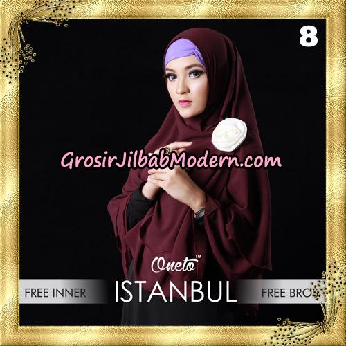 Jilbab Khimar Istambul Original By Sayra Hijab Brand No 8