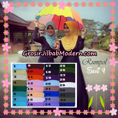 Jilbab Syria Layer Cantik Rumana Polos Seri 4 Support By Oneto Hijab Series
