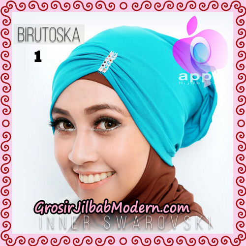 Inner Swarovski Cantik Original By Apple Hijab Brand No 1