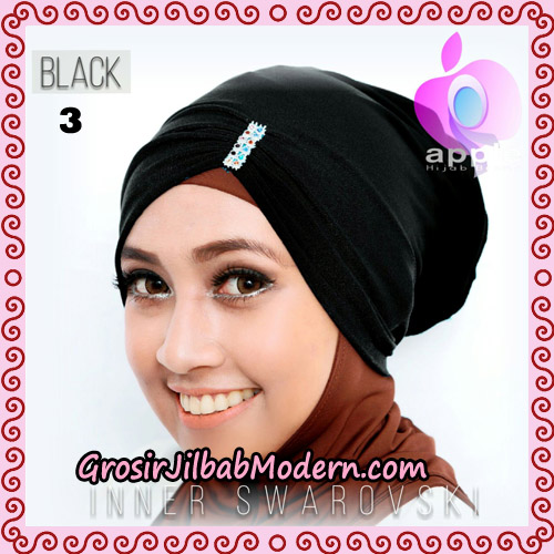 Inner Swarovski Cantik Original By Apple Hijab Brand No 3