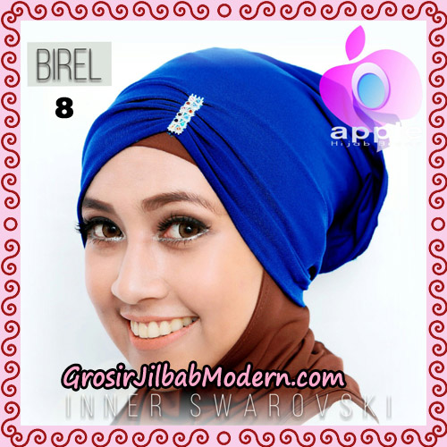 Inner Swarovski Cantik Original By Apple Hijab Brand No 8