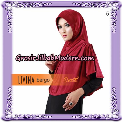 Jilbab Bergo Livina Simple Original By Oneto Hijab Brand No 5