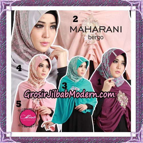 Jilbab Bergo Maharani Original By Modelo Hijab Brand
