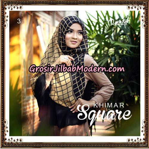 Jilbab Cerutti Khimar Square Support Oneto Hijab No 3