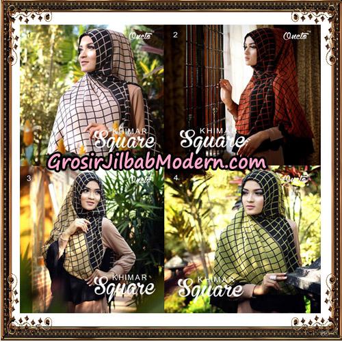 Jilbab Cerutti Khimar Square Support Oneto Hijab