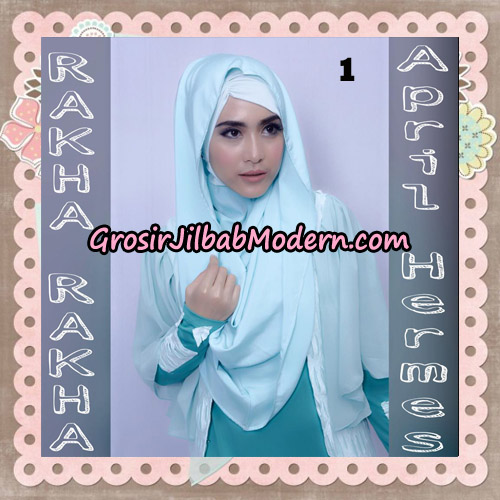 Jilbab Hoodie Instant April Hermes By Rakha Brand No 1