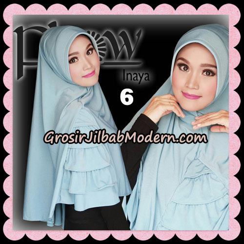 Jilbab Instant Jersey Korea Inaya Original By Flow Idea No 6