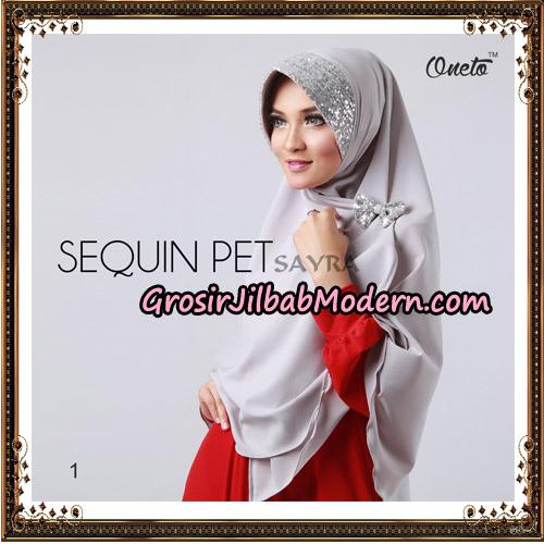 Jilbab Instant Sequin Pet Original By Sayra Hijab Brand No 1