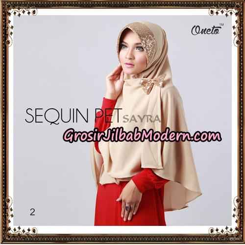 Jilbab Instant Sequin Pet Original By Sayra Hijab Brand No 2