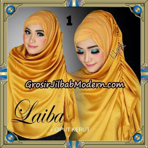 Jilbab Instant Silk Syria Laiba Original By Flow Idea No 1