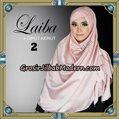Jilbab Instant Silk Syria Laiba Original By Flow Idea No 2