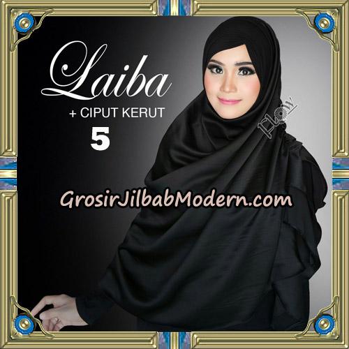 Jilbab Instant Silk Syria Laiba Original By Flow Idea No 5
