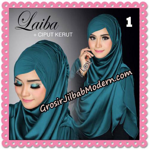 Jilbab Instant Silk Syria Laiba Seri 2 Original By Flow Idea No 1