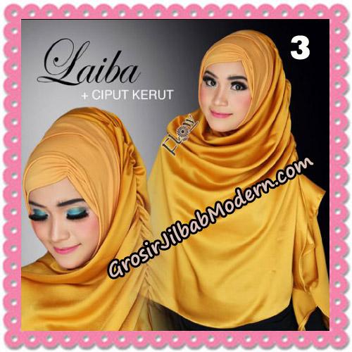 Jilbab Instant Silk Syria Laiba Seri 2 Original By Flow Idea No 3
