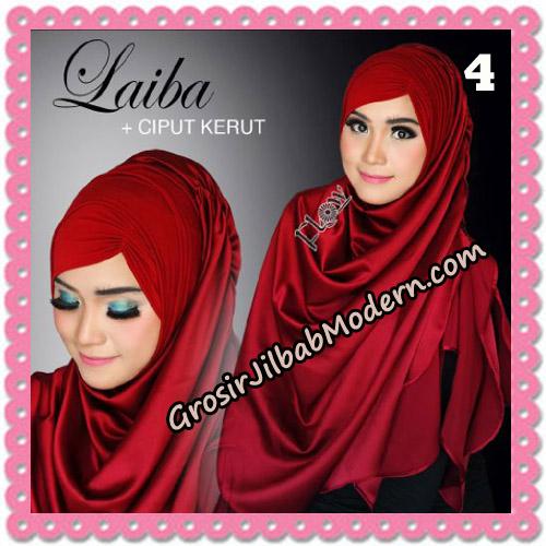 Jilbab Instant Silk Syria Laiba Seri 2 Original By Flow Idea No 4