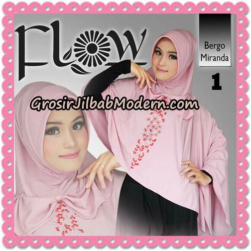 Jilbab Instant Syria Bergo Miranda Original By Flow Idea No 1