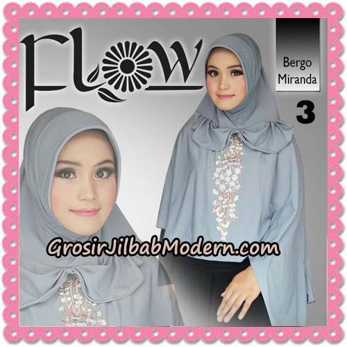 Jilbab Instant Syria Bergo Miranda Original By Flow Idea No 3