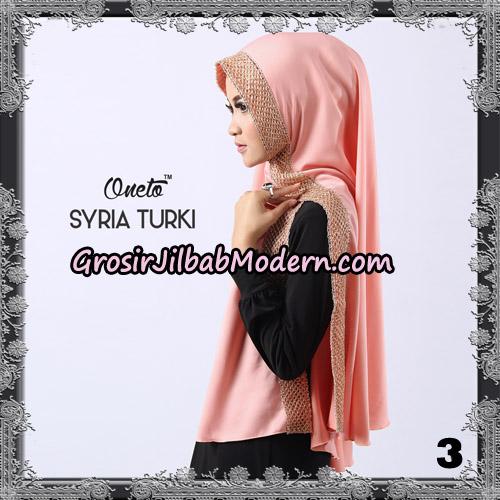Jilbab Instant Syria Turki Exclusive Support Oneto Hijab No 3