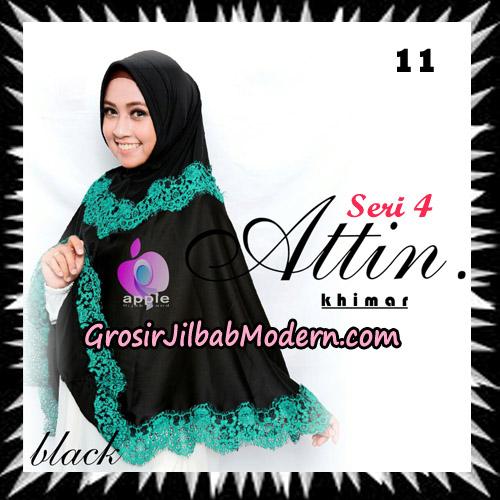 Jilbab Khimar Attin Seri 4 Original By Apple Hijab Brand No 11 Black
