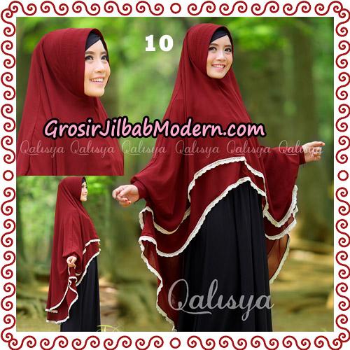 Jilbab Khimar Modern Exclusive Tunik Yumna By Qalisya Hijab No 10