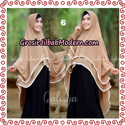 Jilbab Khimar Modern Exclusive Tunik Yumna By Qalisya Hijab No 6