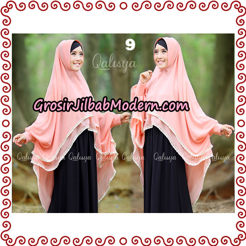 Jilbab Khimar Modern Exclusive Tunik Yumna By Qalisya Hijab No 9