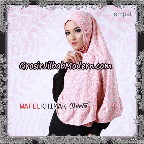 Jilbab Khimar Wafel Cantik Support Oneto Hijab No 4