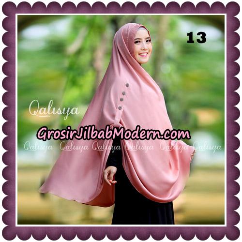 Jilbab Khimar Ziya Original By Qalisya Hijab Brand No 13