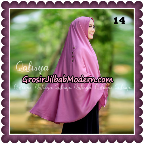 Jilbab Khimar Ziya Original By Qalisya Hijab Brand No 14