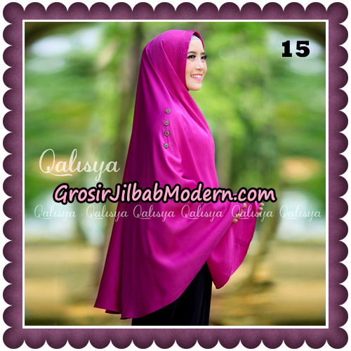 Jilbab Khimar Ziya Original By Qalisya Hijab Brand No 15